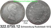 1 Species Thaler 1812 Deutschland Schwarzburg Rudolstadt AKS 1 Friedric... 695,00 EUR inkl. gesetzl. MwSt., zzgl. 6,50 EUR Versand