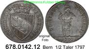 1/2 Taler 1797 Schweiz Bern Stadt Respublica Bernensis gutes vz  320,00 EUR  zzgl. 6,50 EUR Versand