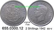 2 Shillings 1942 Südafrika South Africa *41 KM29 ss-v  25,00 EUR  zzgl. 4,75 EUR Versand