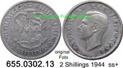 2 Shillings 1944 Südafrika South Africa *41 KM29 ss+  13,75 EUR  zzgl. 4,75 EUR Versand