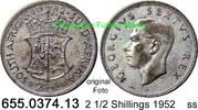2 1/2 Shillings 1952 Südafrika South Africa *60 KM39.2 ss  20,75 EUR  zzgl. 4,75 EUR Versand