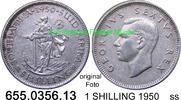 1 SHILLING 1950 Südafrika South Africa *49 KM37.1 ss  7,75 EUR  zzgl. 4,75 EUR Versand