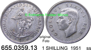 1 SHILLING 1951 Südafrika South Africa *58 KM37.2 ss  7,75 EUR  zzgl. 4,75 EUR Versand
