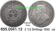 2 1/2 Shillings 1892 Südafrika South Africa *7 KM7 -ss  34,00 EUR  zzgl. 4,75 EUR Versand