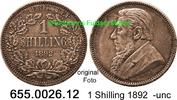 1 Shilling 1892 Südafrika South Africa *5 KM5 seltene Erhaltung -unc  75,00 EUR  zzgl. 6,50 EUR Versand