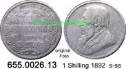 1 Shilling 1892 Südafrika South Africa *5 KM5 s-ss  17,50 EUR  zzgl. 4,75 EUR Versand