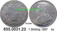 1 Shilling 1897 Südafrika South Africa *5 KM5 ss  14,75 EUR  zzgl. 4,75 EUR Versand