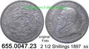 2 1/2 Shillings 1897 Südafrika South Africa *7 KM7 ss  39,00 EUR  zzgl. 4,75 EUR Versand