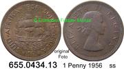 1 Penny 1956 Südafrika South Africa *67 KM46 ss  1,75 EUR  zzgl. 4,75 EUR Versand