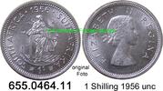 1 Shilling 1956 Südafrika South Africa *70 KM49 unc  9,00 EUR  zzgl. 4,75 EUR Versand