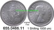 1 Shilling 1958 Südafrika South Africa *70 KM49 unc  9,00 EUR  zzgl. 4,75 EUR Versand