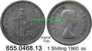 1 Shilling 1960 Südafrika South Africa *70 KM49 ss  3,95 EUR  zzgl. 4,75 EUR Versand