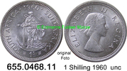 1 Shilling 1960 Südafrika South Africa *70 KM49 unc  10,00 EUR  zzgl. 4,75 EUR Versand