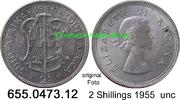 2 Shillings 1955 Südafrika South Africa *71 KM50 vz/vz+  17,50 EUR  zzgl. 4,75 EUR Versand