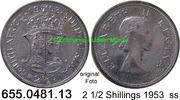 2 1/2 Shillings 1953 Südafrika South Africa *72 KM51 ss  9,75 EUR  zzgl. 4,75 EUR Versand
