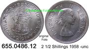 2 1/2 Shillings 1958 Südafrika South Africa *72 KM51 -unc  39,00 EUR  zzgl. 4,75 EUR Versand