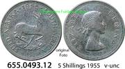 5 Shillings 1955 Südafrika South Africa *73 KM52 Jahrgang v-unc  22,00 EUR  zzgl. 4,75 EUR Versand