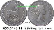 5 Shillings 1957 Südafrika South Africa *73 KM52 v-unc  13,95 EUR  zzgl. 4,75 EUR Versand