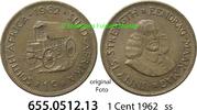 1 Cent 1962 Südafrika Republik  ss  1,00 EUR  zzgl. 4,75 EUR Versand