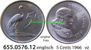 5 Cents 1066 Südafrika Republik *88 KM67.1 englisch vz  1,00 EUR  zzgl. 4,75 EUR Versand