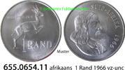 1 Rand 1966 Südafrika Republik *99 KM71.2 afrikaans = Suid v-unc  12,00 EUR  zzgl. 4,75 EUR Versand