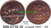 2 Cents 1972 Südafrika Republik *122 KM83 -PP  4,00 EUR  zzgl. 4,75 EUR Versand