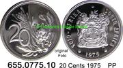 20 Cents 1975 Südafrika Republik *125 KM86 PP  3,00 EUR  zzgl. 4,75 EUR Versand