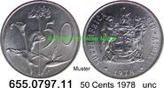 50 Cents 1987 Südafrika Republik *126 KM87 unc  1,50 EUR  zzgl. 4,75 EUR Versand