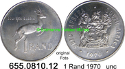 1 Rand 1970 Südafrika Republik *128 KM88 Silber unc  11,95 EUR  zzgl. 4,75 EUR Versand