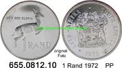 1 Rand 1972 Südafrika Republik *128 KM88 Silber -PP  13,50 EUR  zzgl. 4,75 EUR Versand