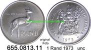 1 Rand 1973 Südafrika Republik *128 KM88 Silber unc  11,95 EUR  zzgl. 4,75 EUR Versand