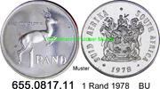 1 Rand 1978 Südafrika Republik *128 KM88 Silber BU  13,00 EUR  zzgl. 4,75 EUR Versand