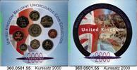 4,38 Pounds 2000 Great Britain Großbritannien Kursmünzensatz . 360.0501... 21,00 EUR  zzgl. 4,75 EUR Versand