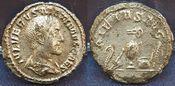 Denar 238 Antike / Römische Kaiserzeit Max...