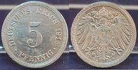 5 Pfennig Materialprobe  1915 A Kaiserreich / 5 Pfennig Materialprobe 5... 975,00 EUR  +  8,95 EUR shipping
