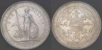 United Kingdom/ Hongkong 1 Trade Dollar Hongkong Grossbritannien, Hong Kong Trade Dollar Silbermünze , ss-vz