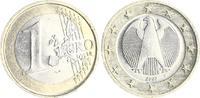 Deutschland 1 Euro Deutschland 1 Euro 2002F Probe bzw. Vorentwurf mit radial ausgerichteten Sternen