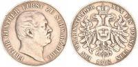 1 Vereinstaler 1862 Schwarzburg Schwarzburg 1 Vereinstaler 1862 Friedri... 95,00 EUR  zzgl. 4,50 EUR Versand