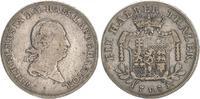 1/2 Taler 1789 Hessen- Kassel Hessen-Kassel Wilhelm IX  1/2 Taler 1789 ... 50,00 EUR  zzgl. 4,75 EUR Versand