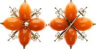 Brosche Honigbernstein , Gold 585  Deutschland / Ostsee Brosche Honigbe... 350,00 EUR  +  8,95 EUR shipping
