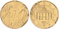 Deutschland/ 10 Cent 10 Cent Deutschland, Probe drehende Ster Deutschland 10 Cent 2002 D, Probeprägung drehende Sterne