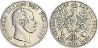 1 Vereinstaler 1861 1861 Preußen Preußen 1 Vereinstaler 1861 Wilhelm ss... 65,00 EUR  zzgl. 4,75 EUR Versand