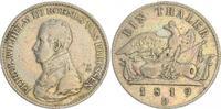 1 Taler 1819D Preußen Preußen 1 Taler, Friedrich Wilhelm III. 1819D Kan... 55,00 EUR  zzgl. 4,75 EUR Versand