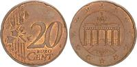 20 Cent Fehlprägung Fremdschrötling 2002 G...
