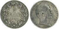 1/2 Gulden 1838 Bayern Bayern 1/2 Gulden 1838 Ludwig I.König von Bayern... 55,00 EUR  zzgl. 4,75 EUR Versand