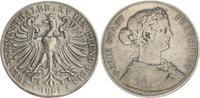 Doppeltaler 1861 1861 Frankfurt Frankfurt Doppeltaler 1861 ss ss, Fassu... 125,00 EUR  zzgl. 4,75 EUR Versand