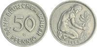 50 Pfennig 1950 G Deutschland 50 Pfennig Bank Deutscher Länder 1950G ir... 175,00 EUR  plus 7,50 EUR verzending