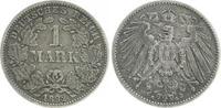 1 Mark 1892 F Deutschland / Kaiserreich 1 Mark 1892 F ss, ss  14,00 EUR  plus 6,50 EUR verzending