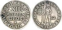 12 Mariengroschen 1673 Braunschweig-Lüneburg Braunschweig-Lüneburg 1673... 25,00 EUR  zzgl. 4,75 EUR Versand