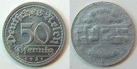 50 Pfennig 1921  Deutschland / Weimar Weimar 50Pf. J.301  FEHLPRÄGUNG  ... 125,00 EUR  +  7,50 EUR shipping